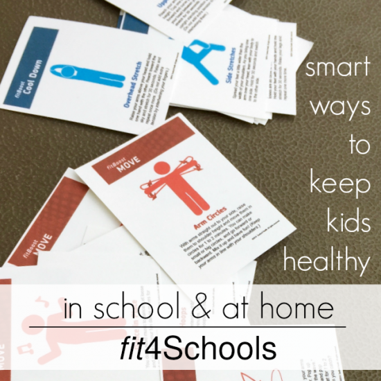 smart ways to keep kids healthy--in school and at home fit4Schools teachmama.com
