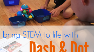 bring STEM to life with Dash and Dot robots
