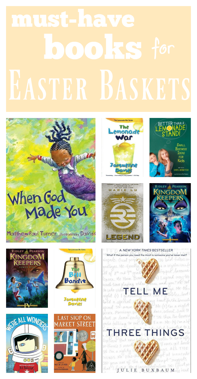 must-have books for easter baskets | teachmama.com