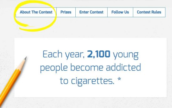 say NO to teen smoking Right Decisions, Right Now teachmama.com contest
