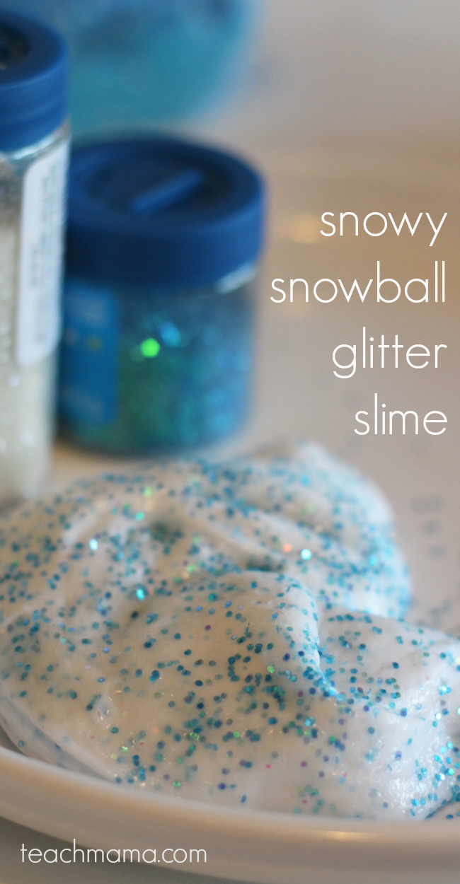 how to make glitter slime teachmama.com