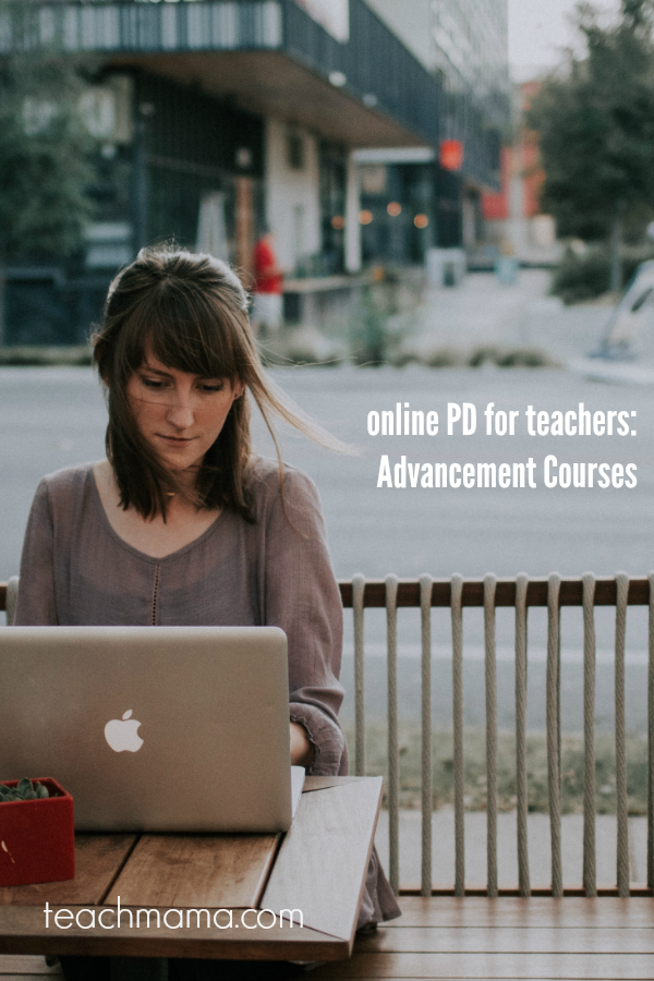 Online PD for teachers: Advancement Courses