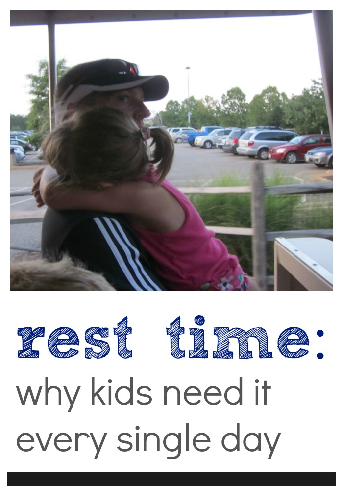 rest time | kids need it every day