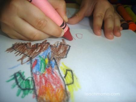 teach kids grip: thick crayons | teachmama.com