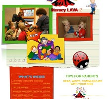 literacy lava–that's right