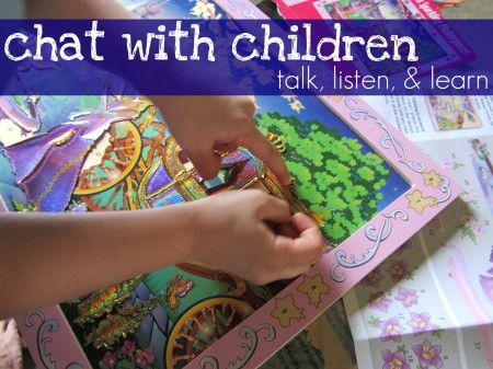 chat with children