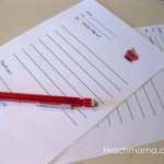 letter to share | teachmama.com