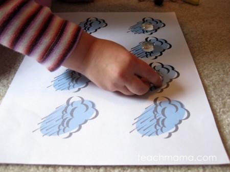 early literacy and math grid games sunny rainy | teachmama.com