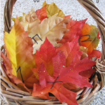 leafy letter learning | fun fall alphabet learning on teachmama.com