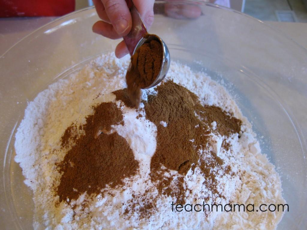 iced pumpkin spice cookies -