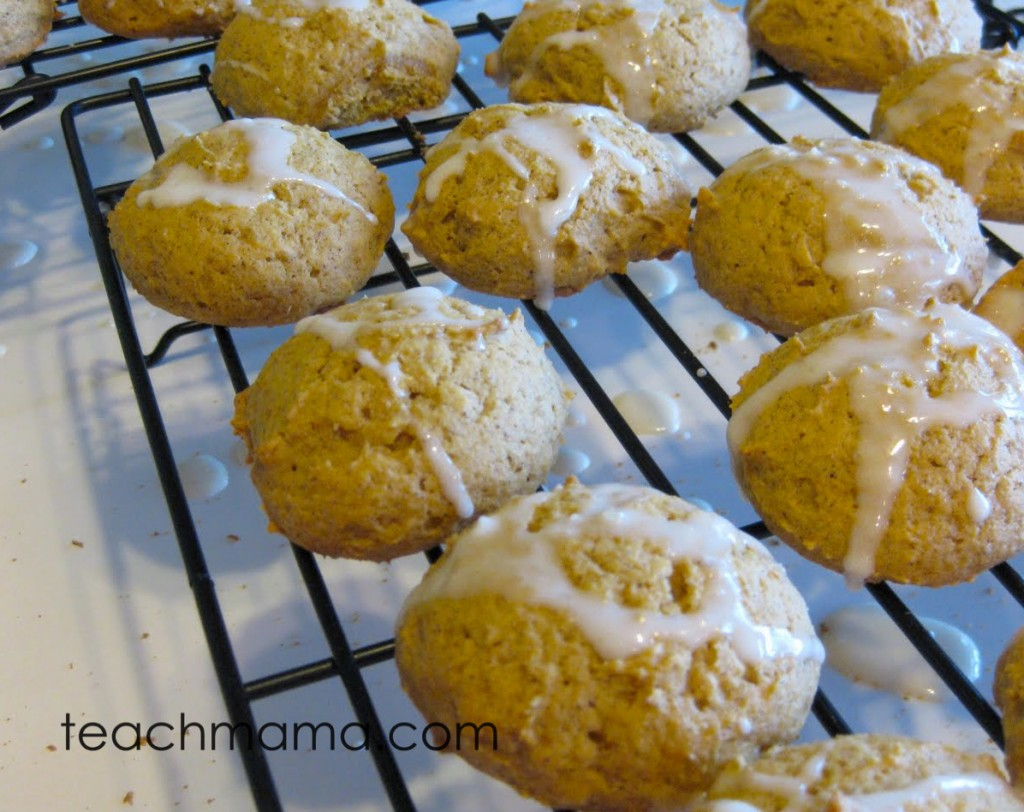 pumpkin spice cookies finished