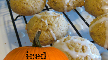 recipe reading (and cookie eating) | iced pumpkin spice cookies