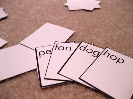rhyme cards