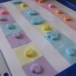 candy heart patterns | teachmama.com