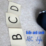 hide and seek abc teachmama.com