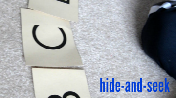 hide-and-seek: abc style