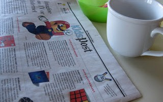 an everyday nonfiction: newspaper reading