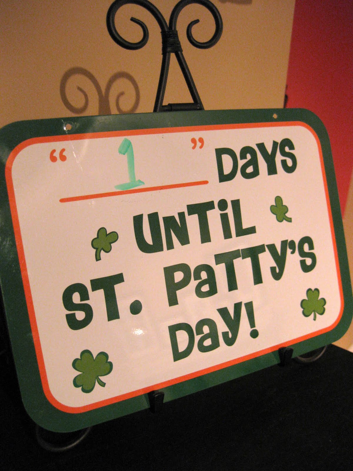 st. patty's day countdown