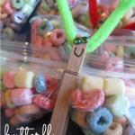 sweet butterfly snacks & birthday fun