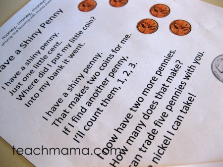 money poems, money poems  teachmama.com