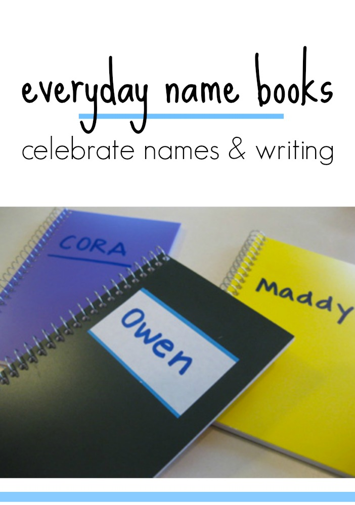 everyday name books celebrate names and writing