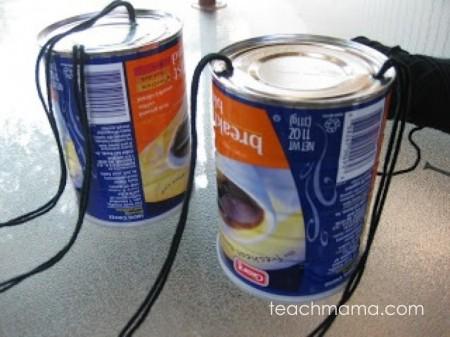 coffee can stilts | old school summer fun teachmama.com