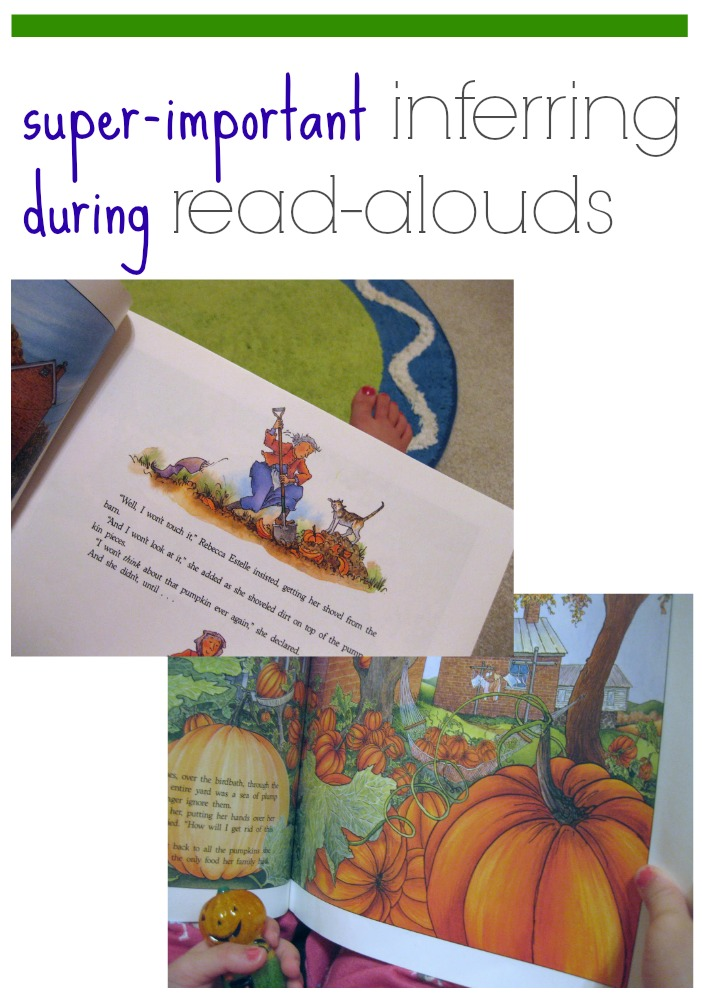 inferring during read alouds