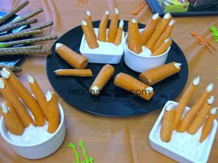 spooky halloween treats fingers