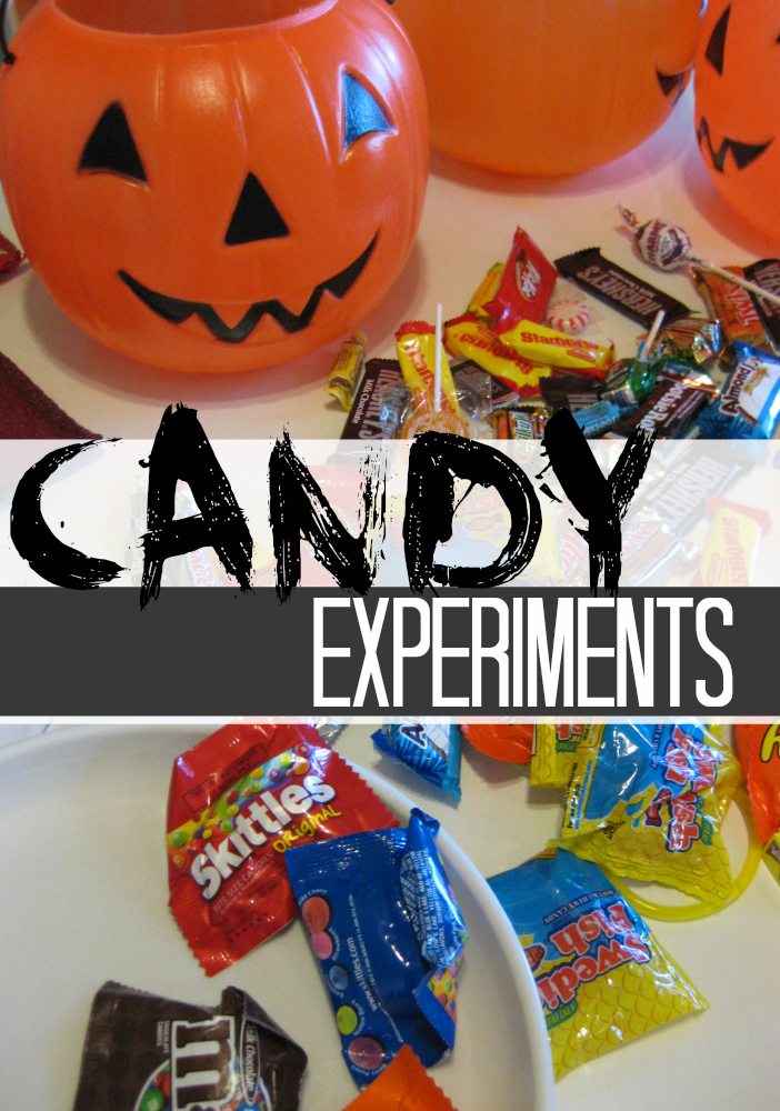 playing with candy: candy experiments (part one)