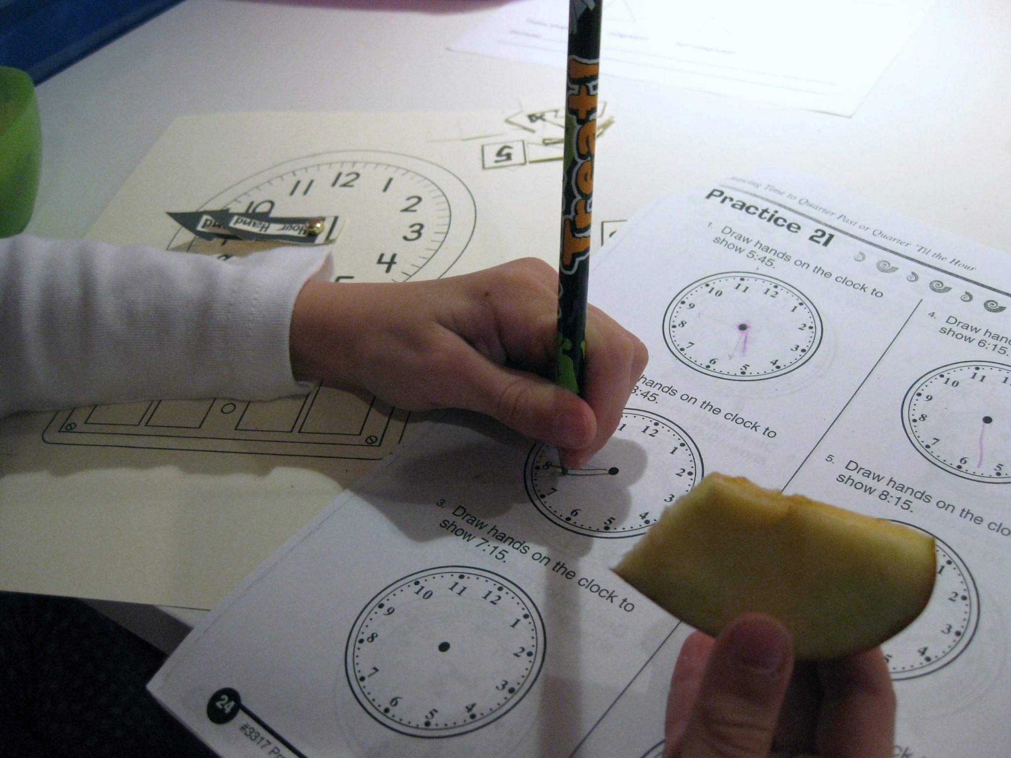 The Terrific Task Of Teaching Kids How To Tell Time Teach Mama