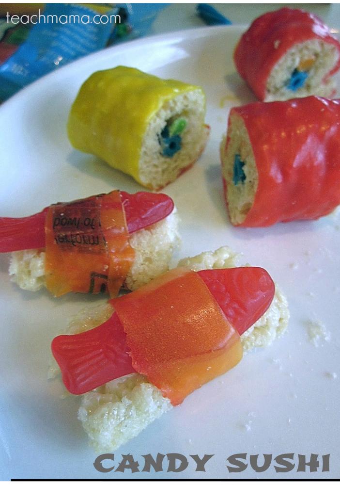 how to make candy sushi | teachmama.com