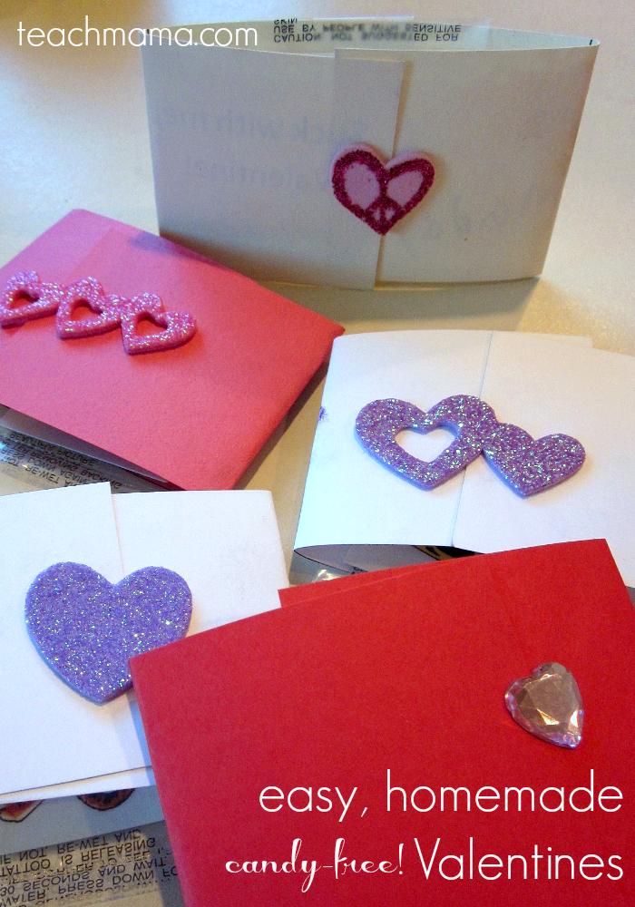 easy homemade candy free valentines | teachmama.com