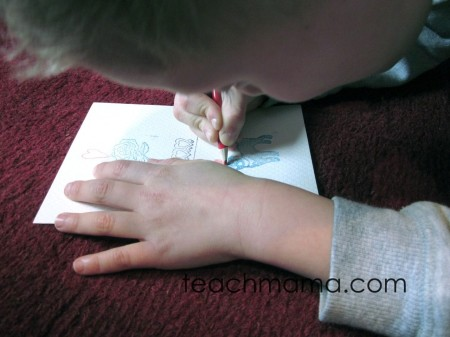 stamp to spell | early literacy | spelling | teachmama.com