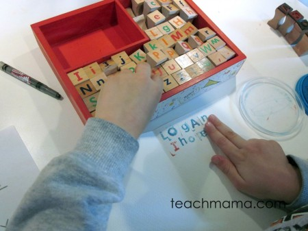 stamp to spell | teachmama.com