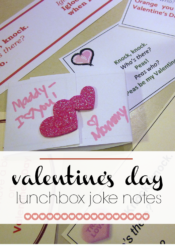 lunchbox notes: valentine's day knock-knock jokes