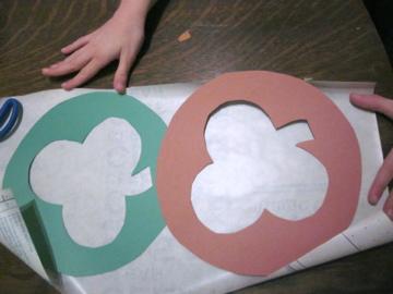 shamrock stained glass teachmama.com