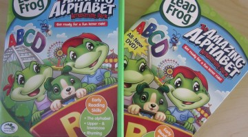 new for us friday: leapfrog dvd's and giveaway! (& link-up!)