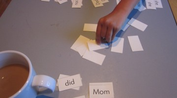 go fish--sight words