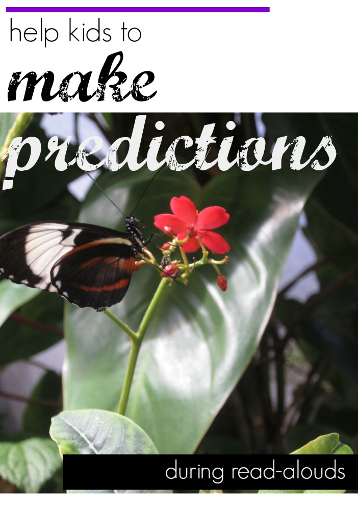 make predictions during read alouds cover