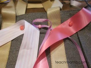 DIY ballet bag
