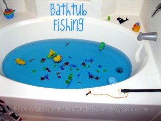 Bathtub Fishing