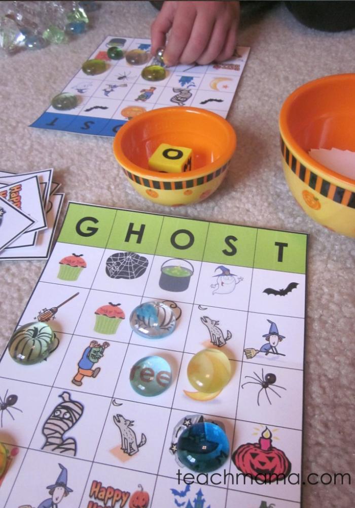 Boo It S Ghost Halloween Bingo Teach Mama