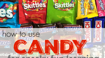 how to use halloween candy for (sneaky) fun learning