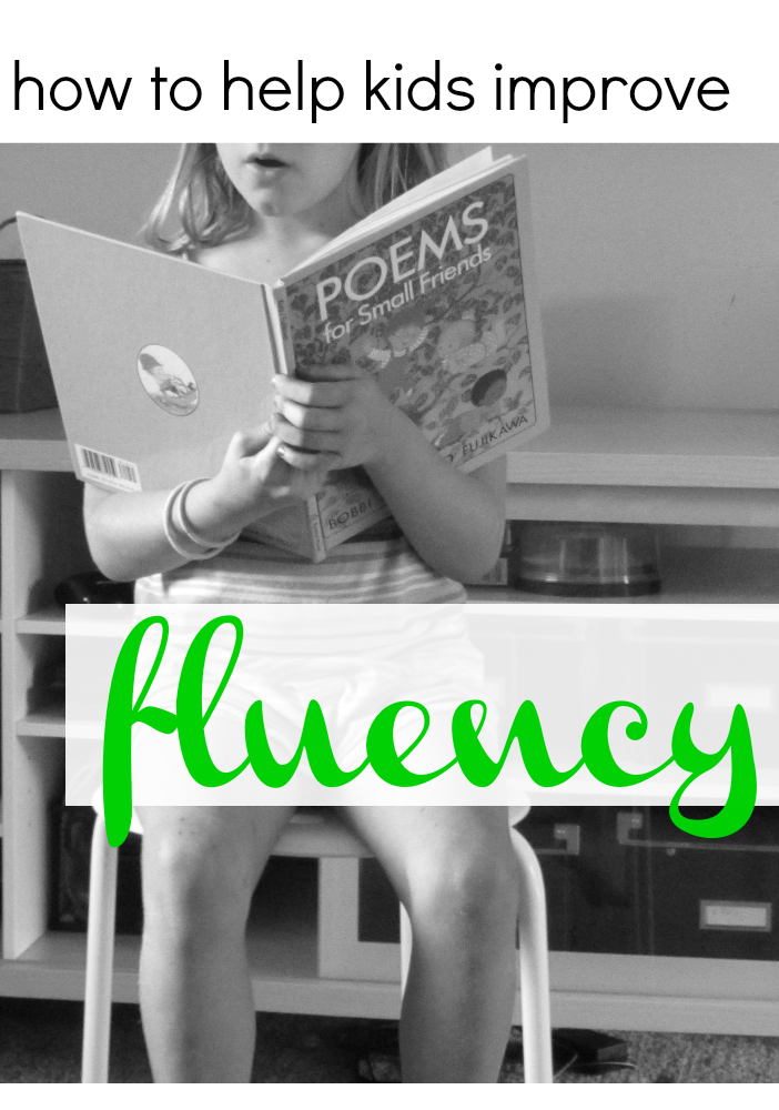 help kids improve fluency