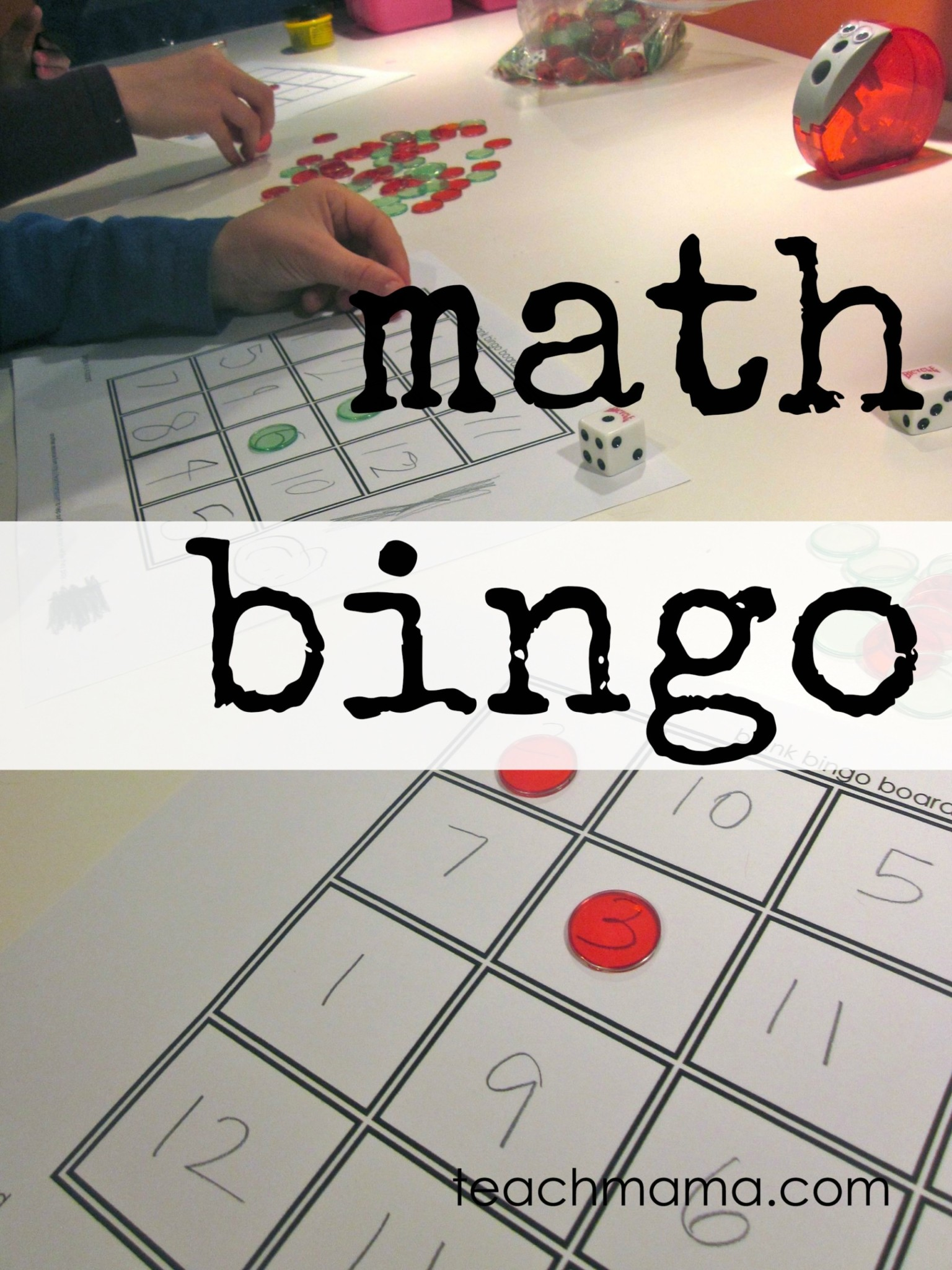 Mathe Bingo