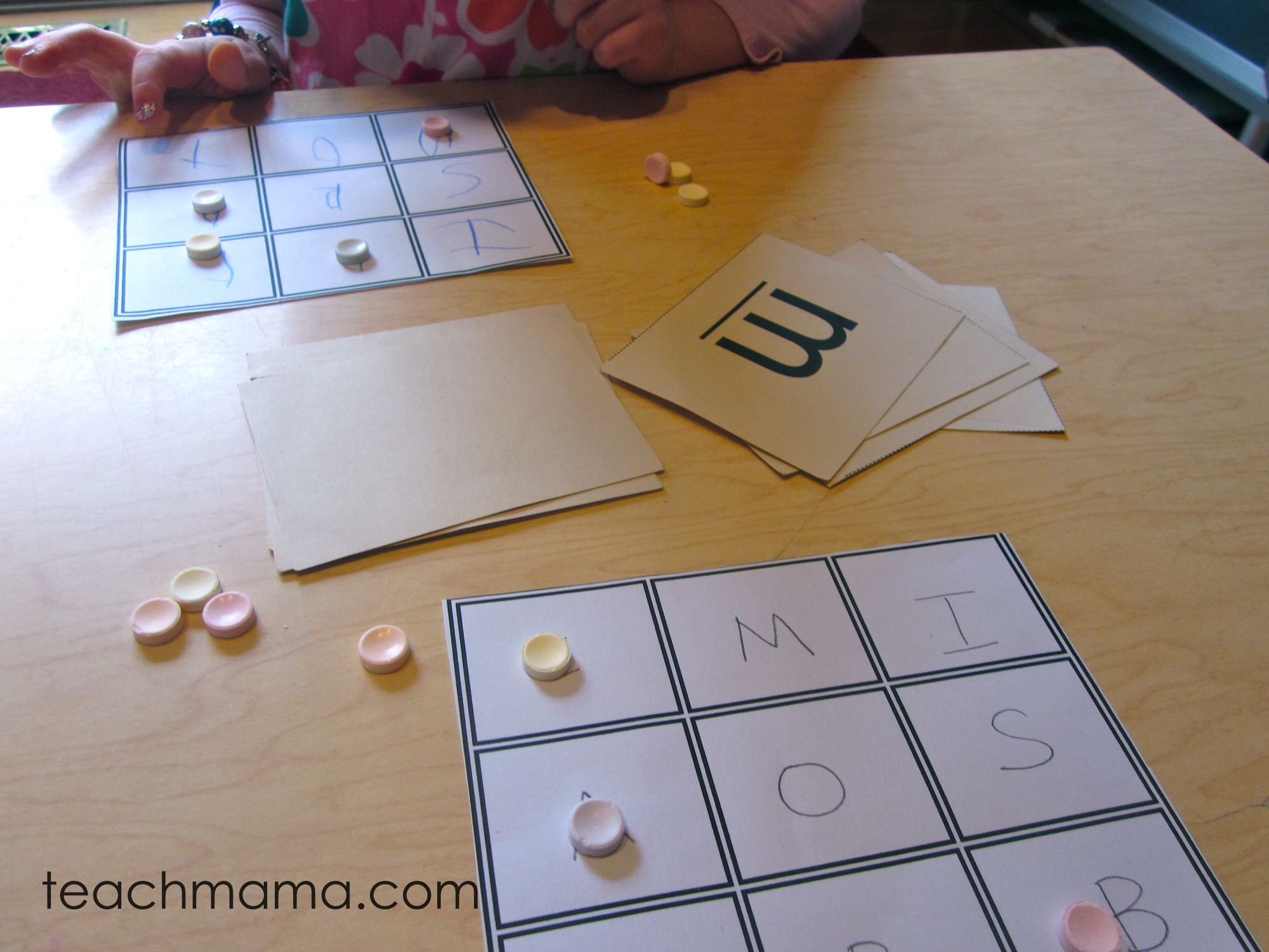 Build Your Own Bingo Games Uppercase And Lowercase Letter