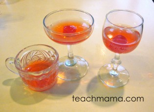 new year family traditions, shirley temples