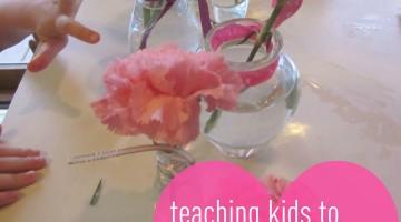 teach kids to show love