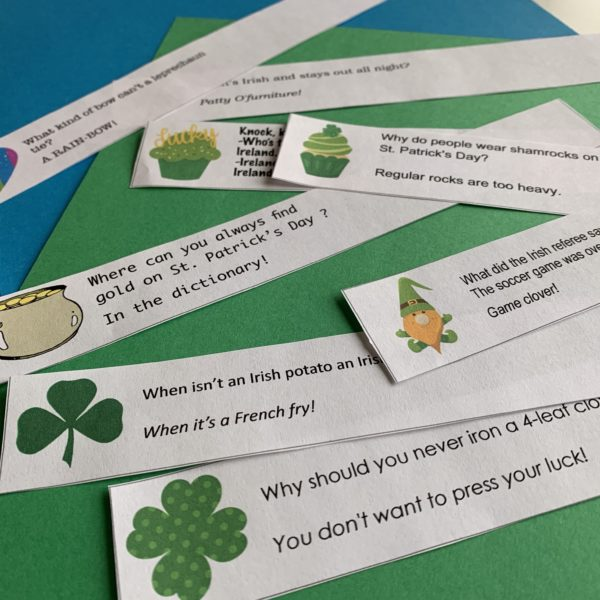 st. patrick's day joke notes