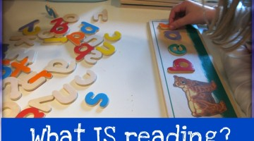 learning during read-alouds: what IS reading?